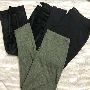 Old Navy Leggings | 3 pair bundle | Black & green
